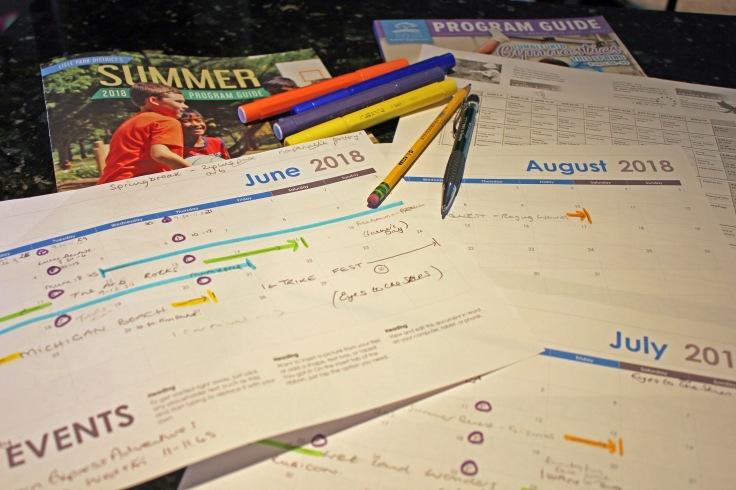 10 weeks of summer planning 2