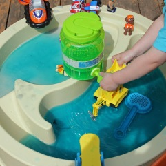 Paw Patrol Sensory Play After