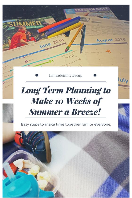 Summer Planning 3