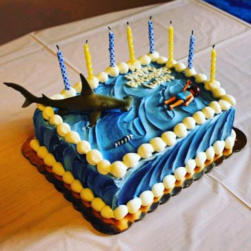7th birthday shark week