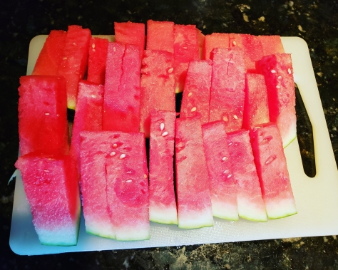 Watermelon cut for  kids